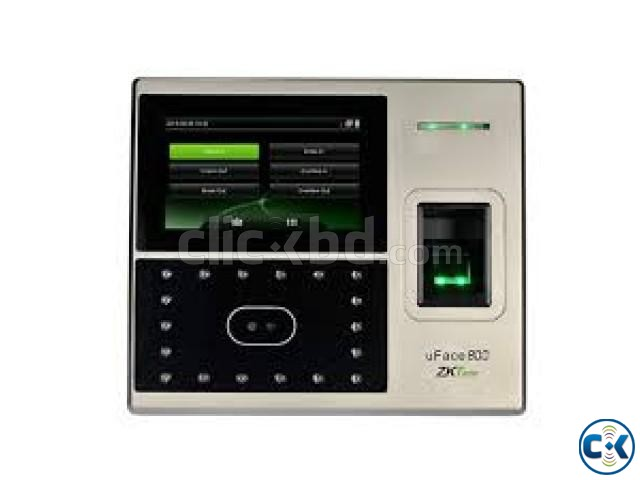Multi-Biometric Time Attendance and Access Control Terminal | ClickBD large image 1