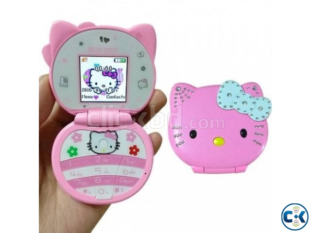 Hello Kitty T99 Dual Sim card Phone | ClickBD large image 0