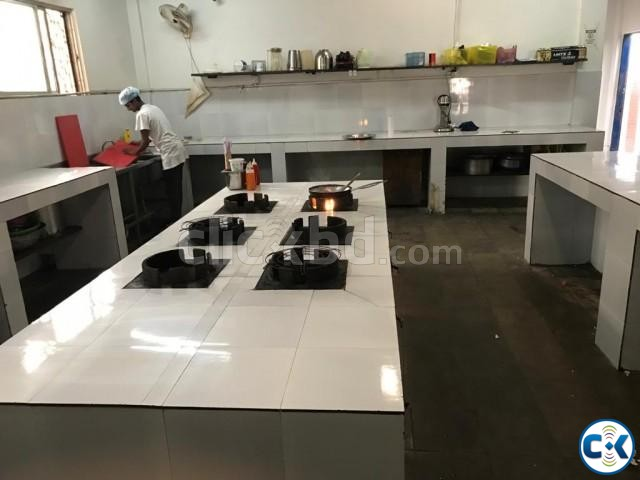Restaurant Preparation Kitchen with Big Storage | ClickBD large image 2