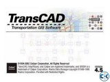 Transcad Transport 4.5 - Virtual Machine Software