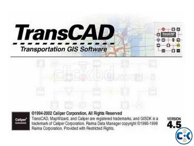Transcad Transport 4.5 - Virtual Machine Software | ClickBD large image 0