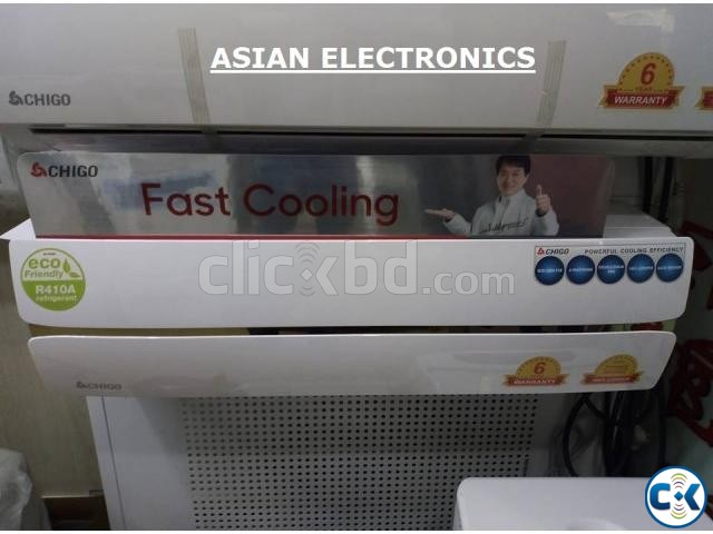 Chigo 1.0 Ton Brand New Air Conditioner ac. | ClickBD large image 1