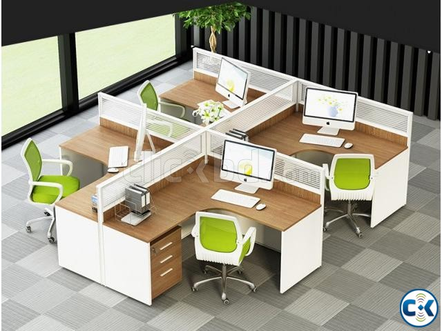 office workstation table | ClickBD large image 0