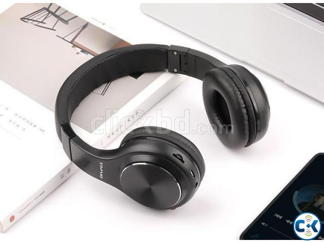 AWEI A600BL wireless bluetooth headphones headset | ClickBD large image 2