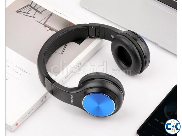 AWEI A600BL wireless bluetooth headphones headset | ClickBD large image 3
