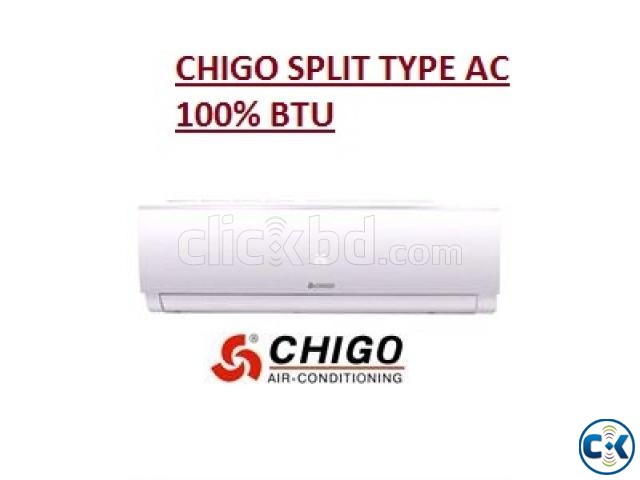 1.0 ton Chigo Air Conditioner ac 172 Model | ClickBD large image 0