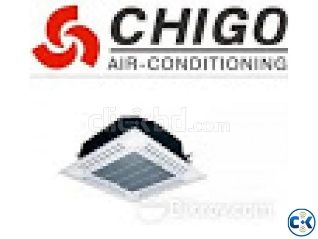 NEW CHIGO 5.0 Ton Cassette Ceiling Original China Product | ClickBD large image 0