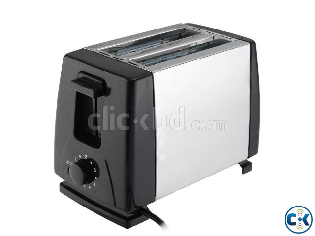 MONDA Electric Automatic 2 Slice Bread Toaster Oven Toaster | ClickBD large image 1