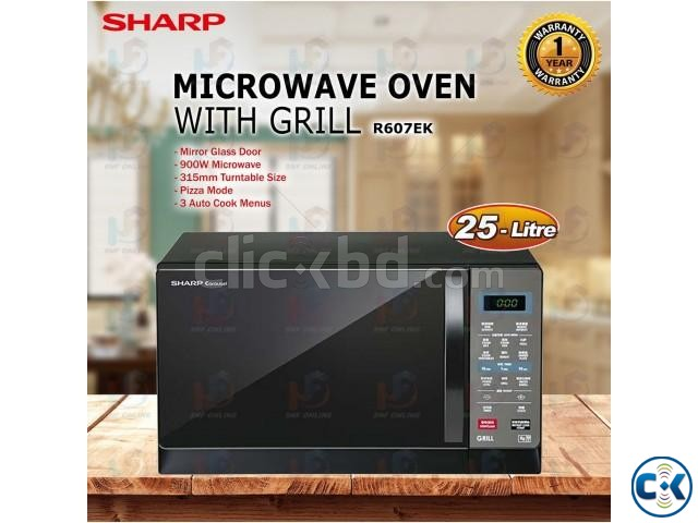 Sharp R607EK Microwave Oven with Grill | ClickBD large image 0