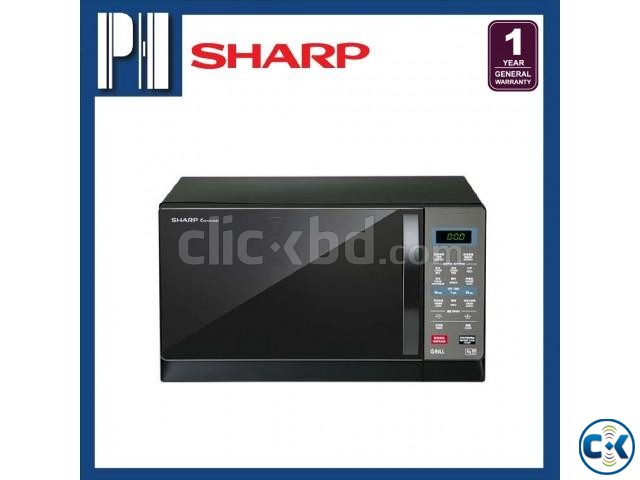 Sharp R607EK Microwave Oven with Grill | ClickBD large image 1