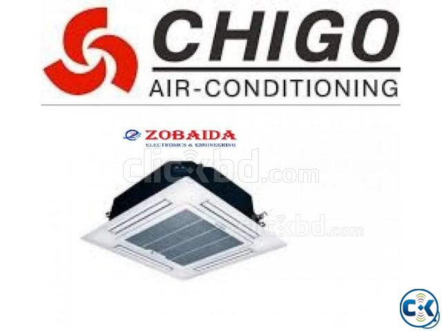 CHIGO 5.0 Ton Air-conditioner AC Cassette Ceiling Type | ClickBD large image 1