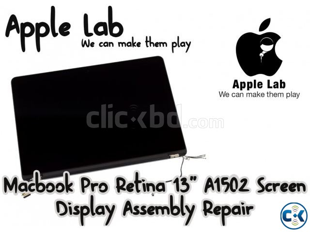 Macbook Pro Retina 13 A1502 Screen Display Assembly Repair | ClickBD large image 0