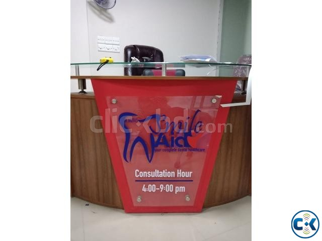 Office showroom branding With All Signboard | ClickBD large image 0