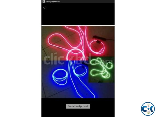 Flexible LED Neon Light with Driver with Remote Control | ClickBD large image 2