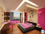 Interior Decoration Service for Flat Office Showroom etc.