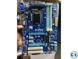 GIGABYTE GA-H77-DS3H Like New With Box Bey Driver Disk