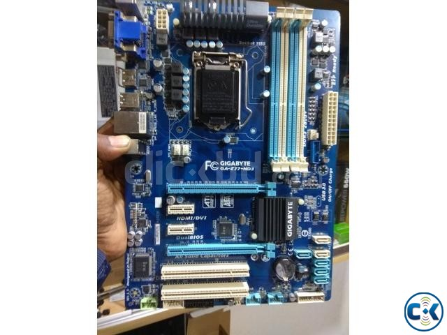 GIGABYTE GA-H77-DS3H Like New With Box Bey Driver Disk | ClickBD large image 1