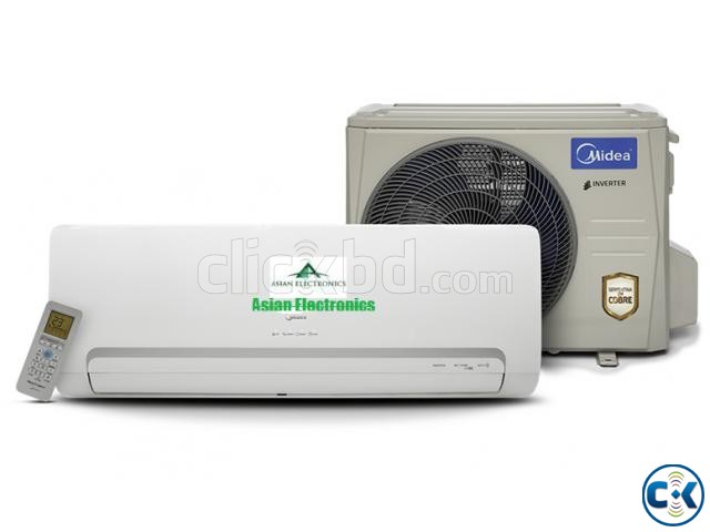 Discount Midea Inverter Hot cool 1.0 Ton ac 3yrs warranty | ClickBD large image 1
