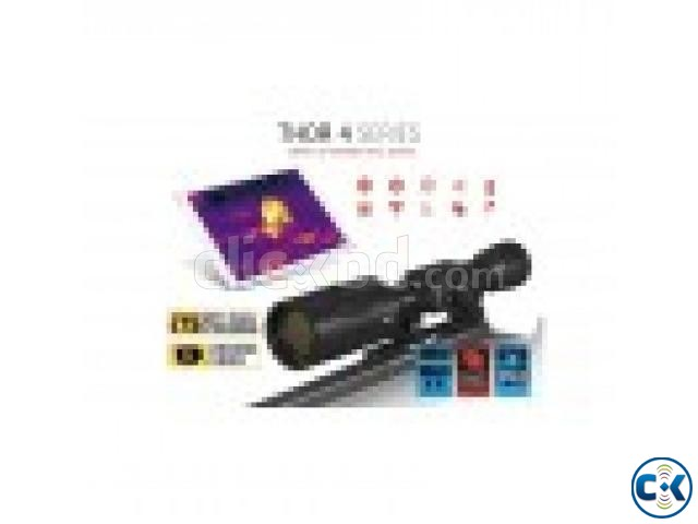 ATN THOR 4 640X480 SENSOR 4-40X THERMAL SMART HD RIFLESCOPE | ClickBD large image 1