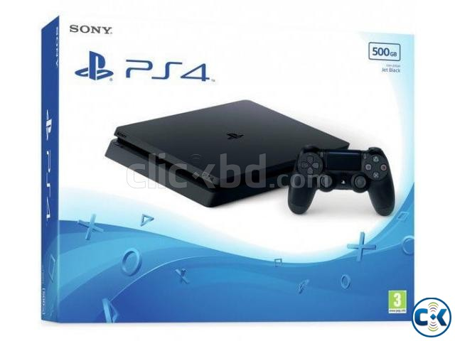 Sony PS4 500GB Slim Gaming Console Price in BD | ClickBD large image 0