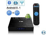 T9 Android TV Box 4k Android 8.1 4gb 32gb