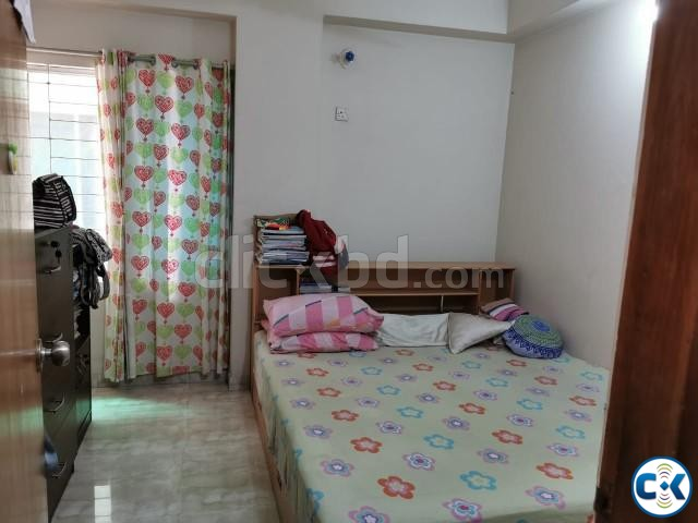 1200 sqft Ready Flat - Kallyanpur main road with all utility | ClickBD large image 1