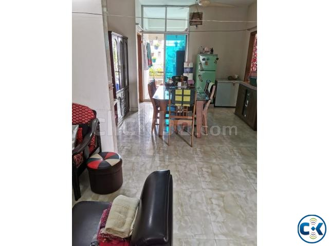 1200 sqft Ready Flat - Kallyanpur main road with all utility | ClickBD large image 2