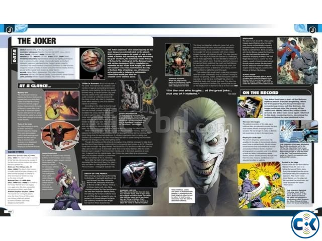 DC Comics Encyclopedia All-New Edition Collectible Item  | ClickBD large image 2