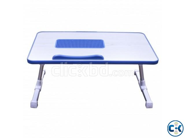 Portable Laptop Table with Cooling Fan | ClickBD large image 1
