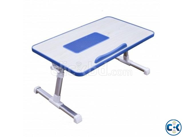 Portable Laptop Table with Cooling Fan | ClickBD large image 2