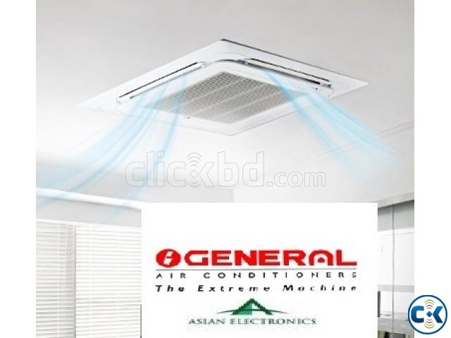 O General Fujitsu 4.0 Ton Cassette Ceiling AC with warranty | ClickBD