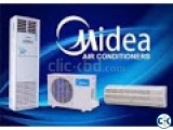 1.0 TON MIDEA  AC Wall Mounted MSM-12CRN1 Running Product