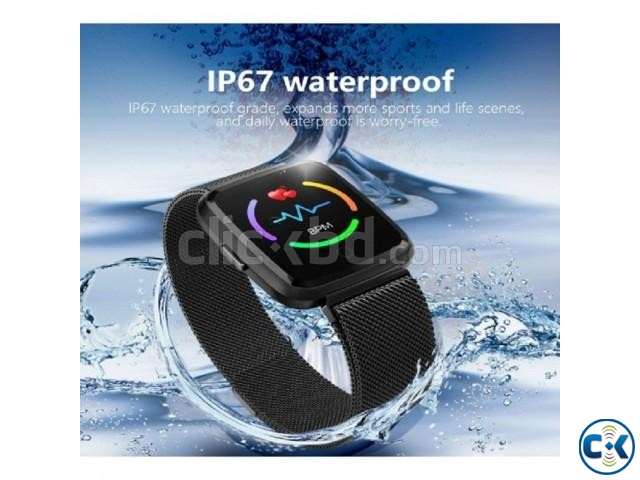 Y7 Smartwatch Waterproof Blood Pressure Pedometer Magnetic | ClickBD large image 2