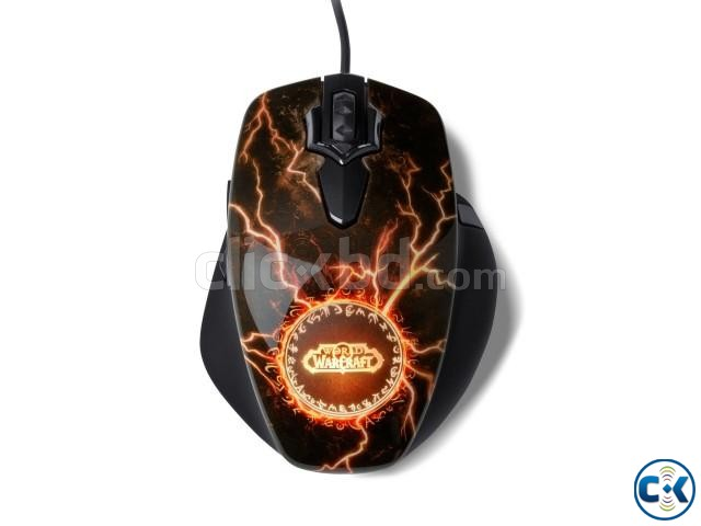 SteelSeries World Of Warcraft Legendary Edition MMO Mouse | ClickBD large image 1