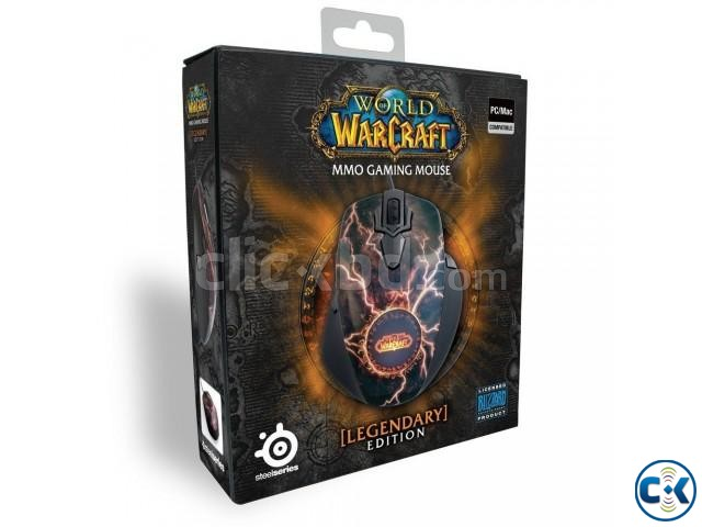 SteelSeries World Of Warcraft Legendary Edition MMO Mouse | ClickBD large image 4