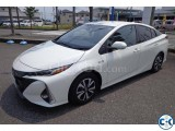 Toyota Prius Plug-In Hybrid 2017 White S Navi Package