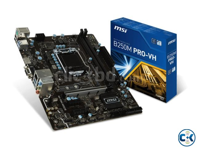MSI B250M PRO-VD 7th Gen Motherboard | ClickBD large image 0
