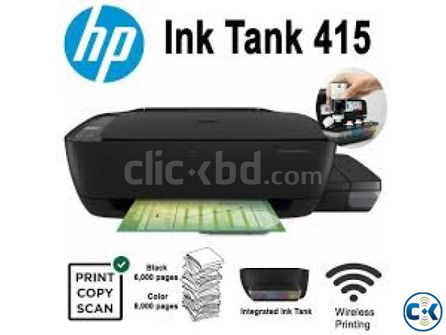 HP 415 Ink Tank Wireless Photo and Document All-in-One Print | ClickBD large image 2
