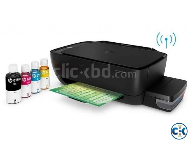 HP 415 Ink Tank Wireless Photo and Document All-in-One Print | ClickBD large image 3