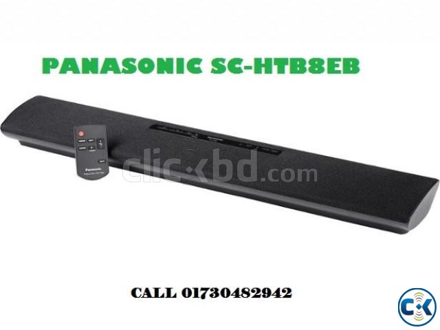 PANASONIC SC- HTB8 EB-K 2.0 Sound Bar | ClickBD large image 0