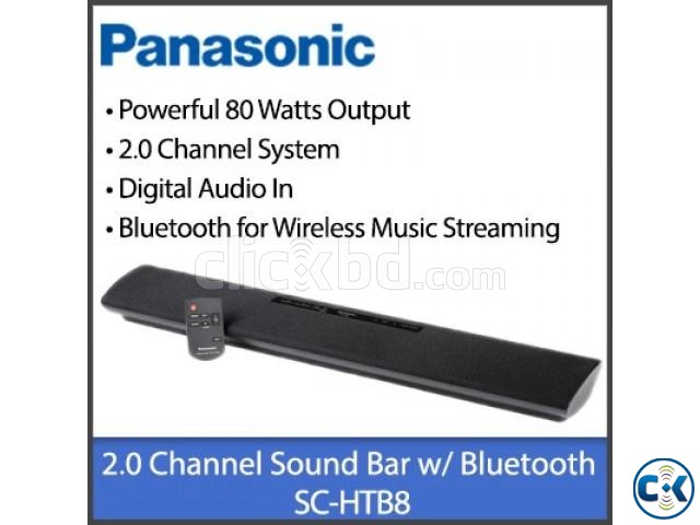 PANASONIC SC- HTB8 EB-K 2.0 Sound Bar | ClickBD large image 2