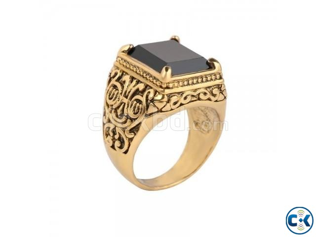 Finger Ring for Men - Gold | ClickBD large image 0