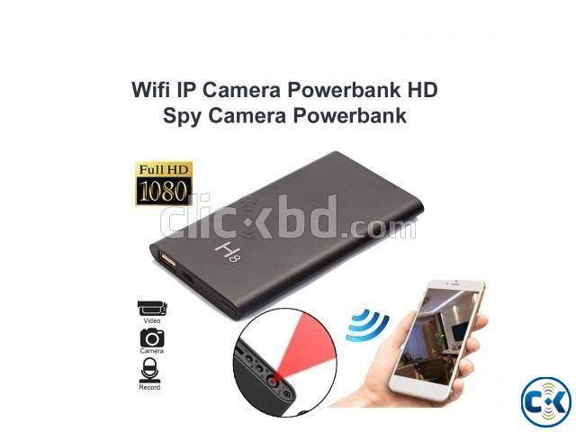 Spy camera powerbank H8 wifi full hd 1080p | ClickBD large image 2