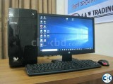 Computer Core 2 Duo__LED Monitor 19
