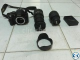 Nikon D5100 with Nikkor DX Kit Lens Tamron 18-270 IS Zoom
