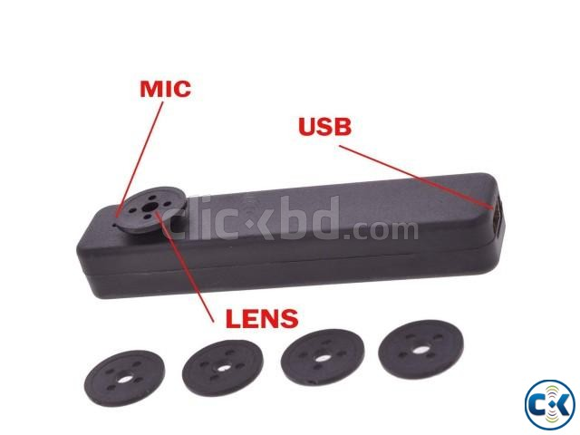 Spy camera Button 32gb builtin | ClickBD large image 1