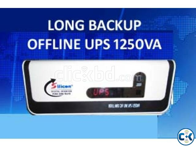 OFF-LINE UPS LONG BACKUP 1000W UNIT | ClickBD large image 0