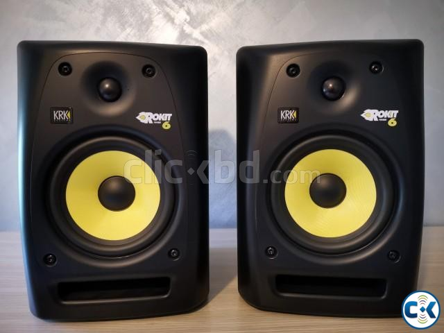 KRK Rokit 6 G3 50W 6 Powered Studio Monitor Almost New  | ClickBD large image 0