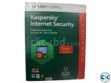 Kaspersky Internet Security - 1 User - 1 Year With T-Shirt G