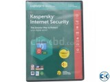 Kaspersky Internet Security 3-User With Gift Stock